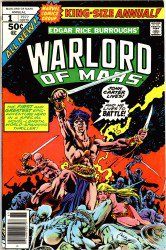 John Carter, Warlord of Mars Annual #1–3 Complete