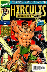 Hercules and the Heart of Chaos #1–3  Complete