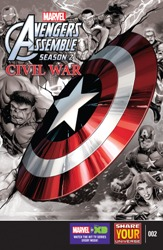 Marvel Universe Avengers Assemble - Civil War #2