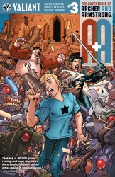 A&A - The Adventures of Archer & Armstrong #3