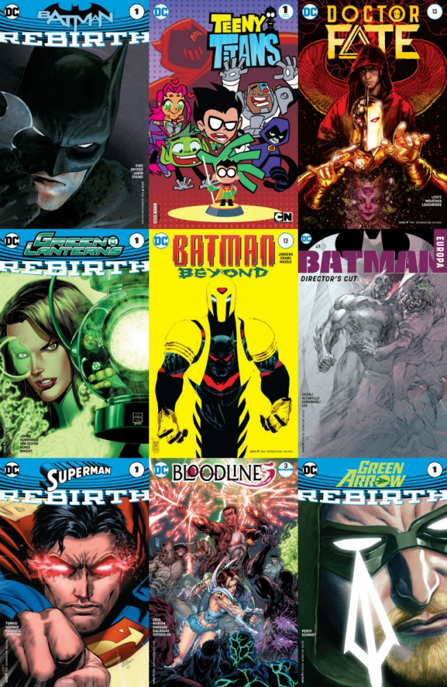 DC week – The New 52 (01.06.2016, week 22)