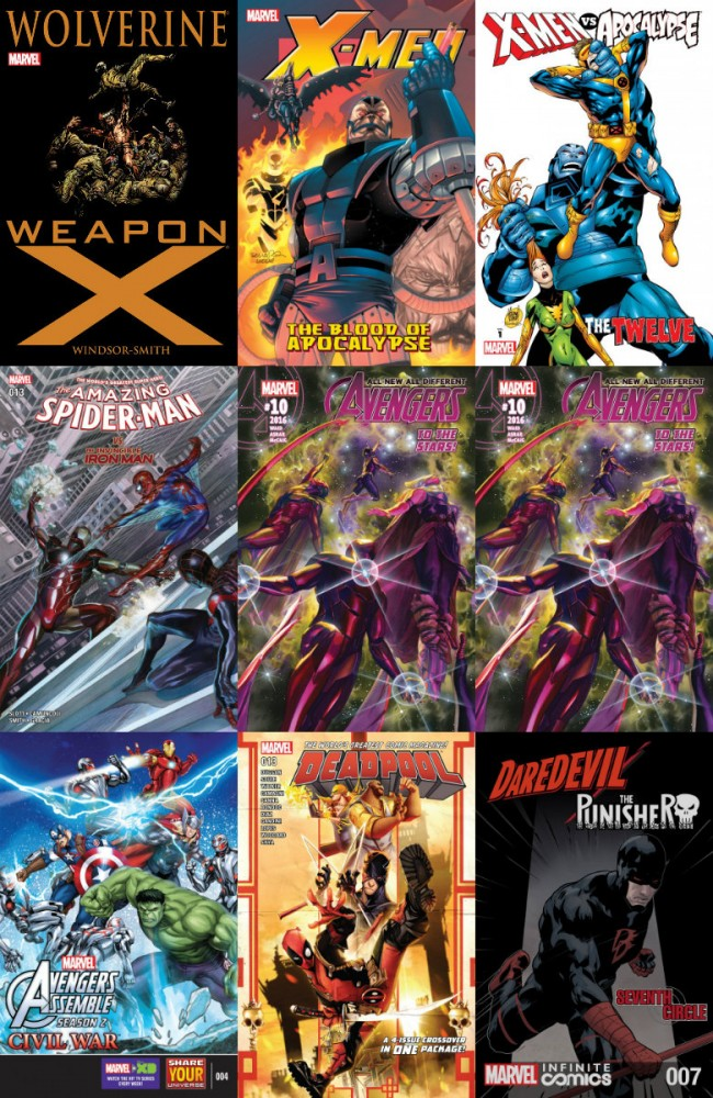 Collection Marvel (01.06.2016, week 22)
