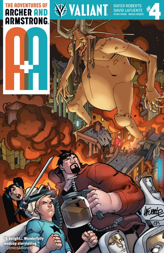 A&A - The Adventures of Archer & Armstrong #4