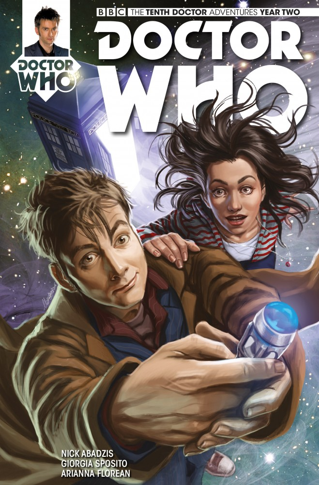 Doctor Who The Tenth Doctor Year Two #11