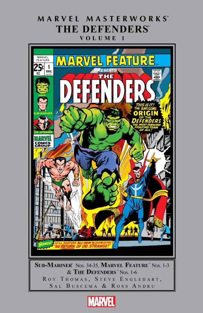 Defenders Masterworks Vol.1