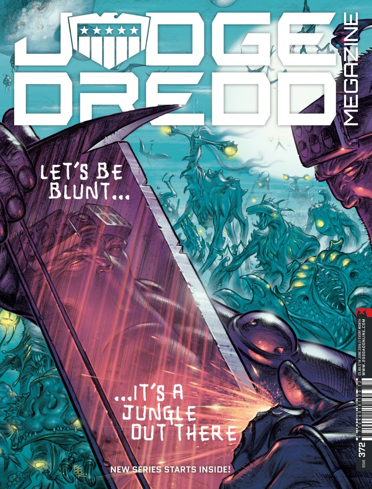 Judge Dredd The Megazine #372