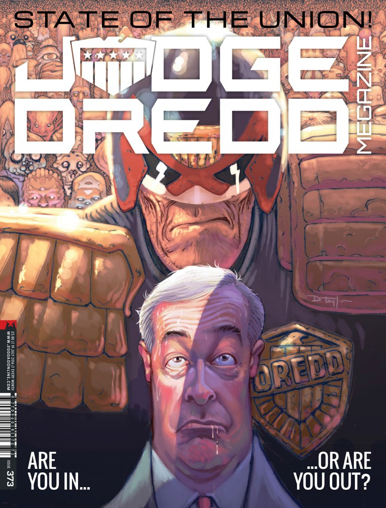 Judge Dredd The Megazine #373