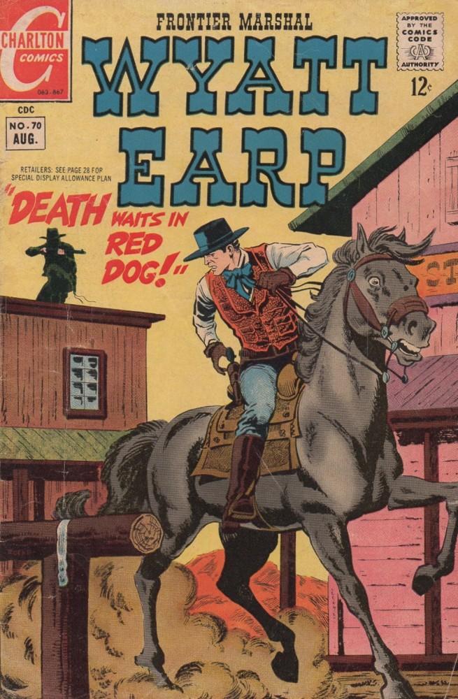 Wyatt Earp Frontier Marshal #70