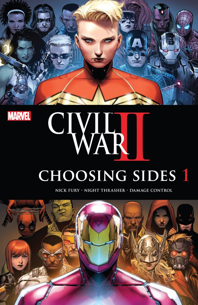Civil War II - Choosing Sides #1