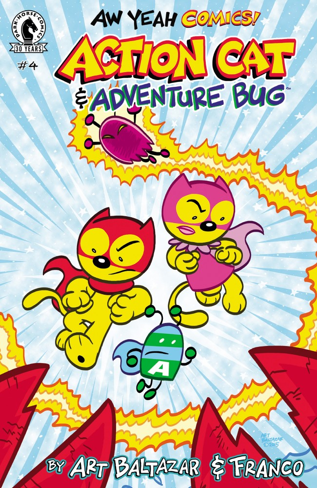 Aw Yeah Comics - Action Cat & Adventure Bug #4
