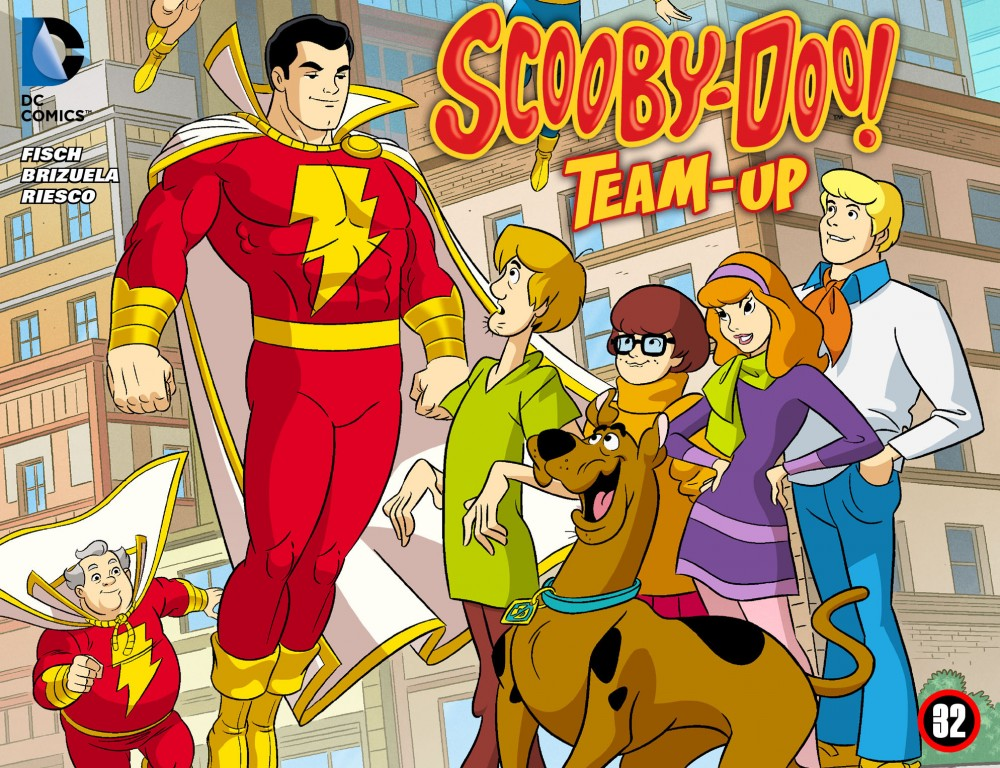 Scooby-Doo Team-Up #32