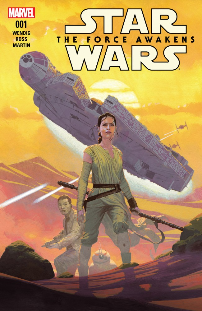 Star Wars - The Force Awakens Adaptation #1