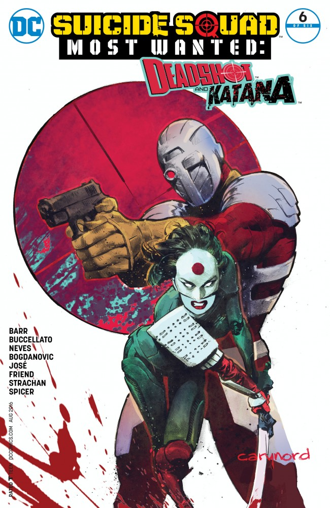 Suicide Squad Most Wanted - Deadshot & Katana #6
