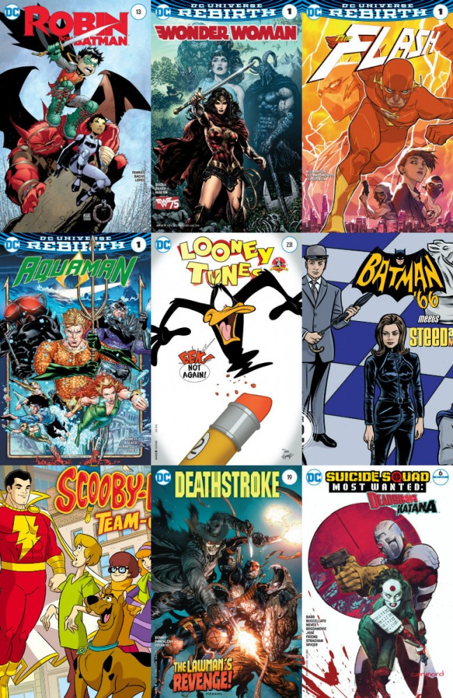 DC week – The New 52 (22.06.2016, week 25)