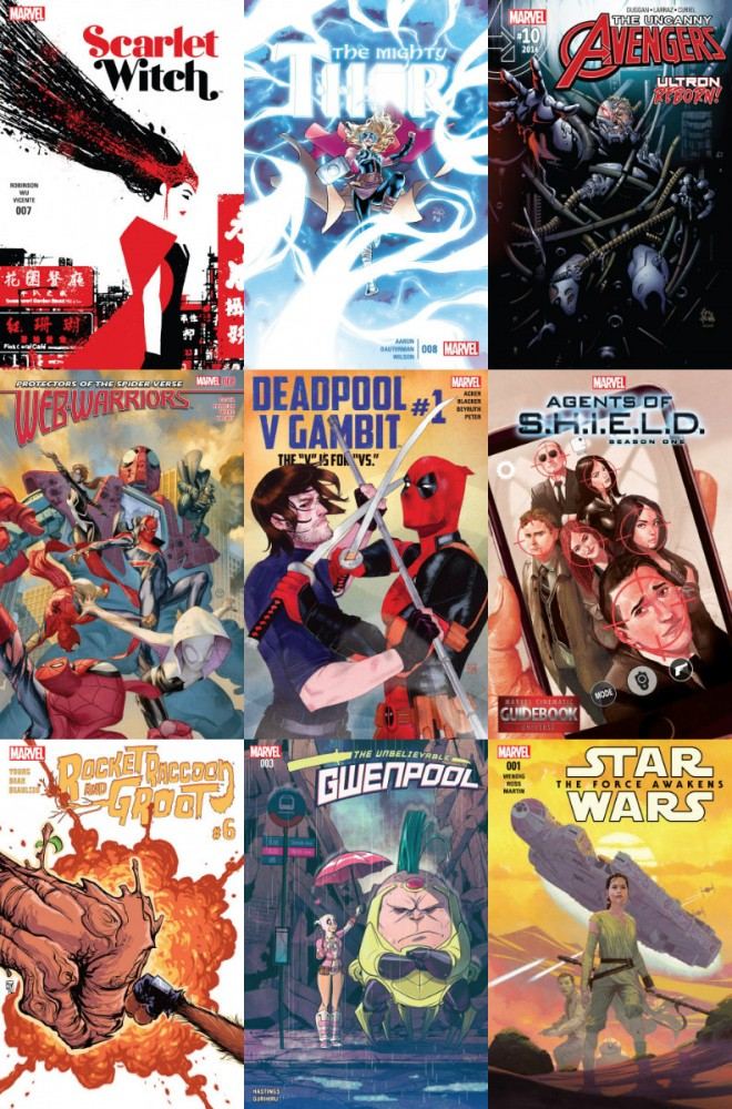 Collection Marvel (22.06.2016, week 25)