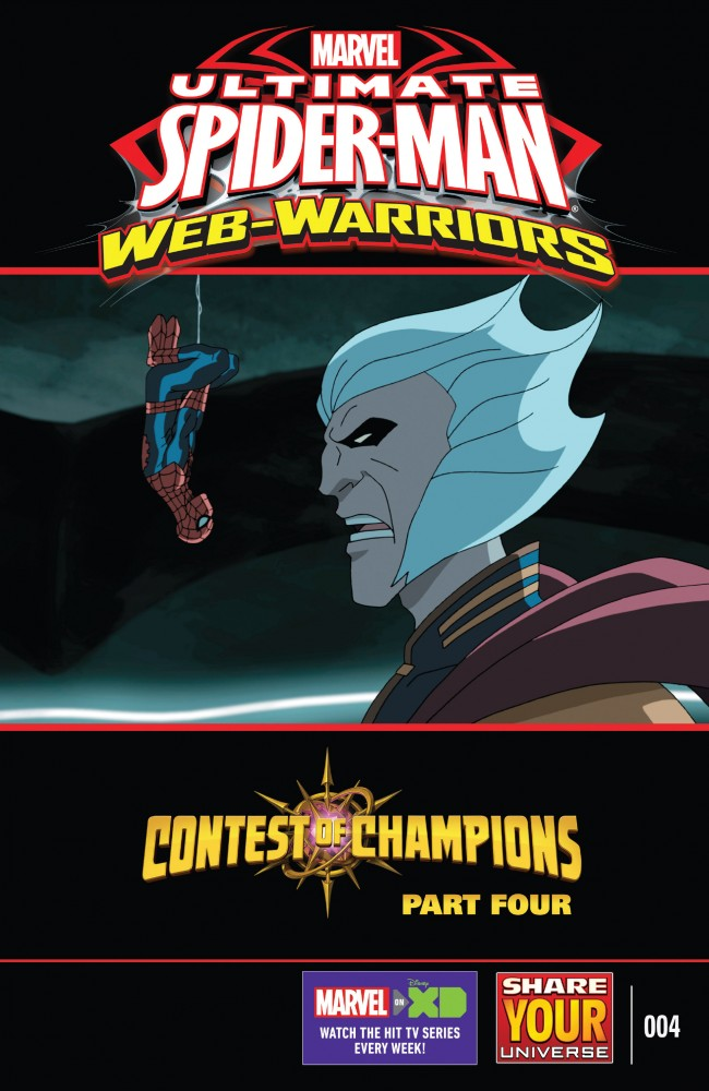Marvel Universe Ultimate Spider-Man - Web-Warriors - Contest of Champions #4