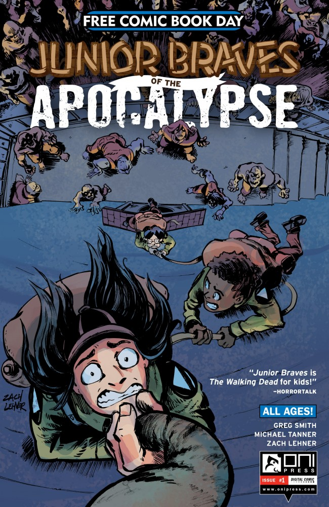 Junior Braves of the Apocalypse #1