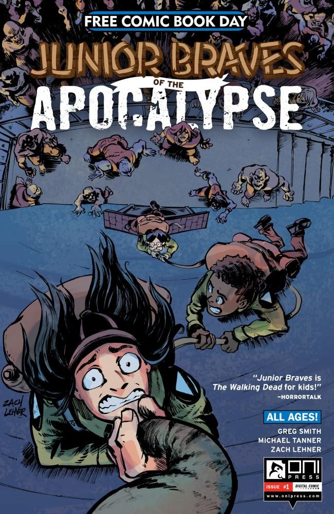 Junior Braves of the Apocalypse #1