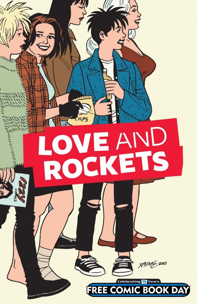 Love & Rockets Stories