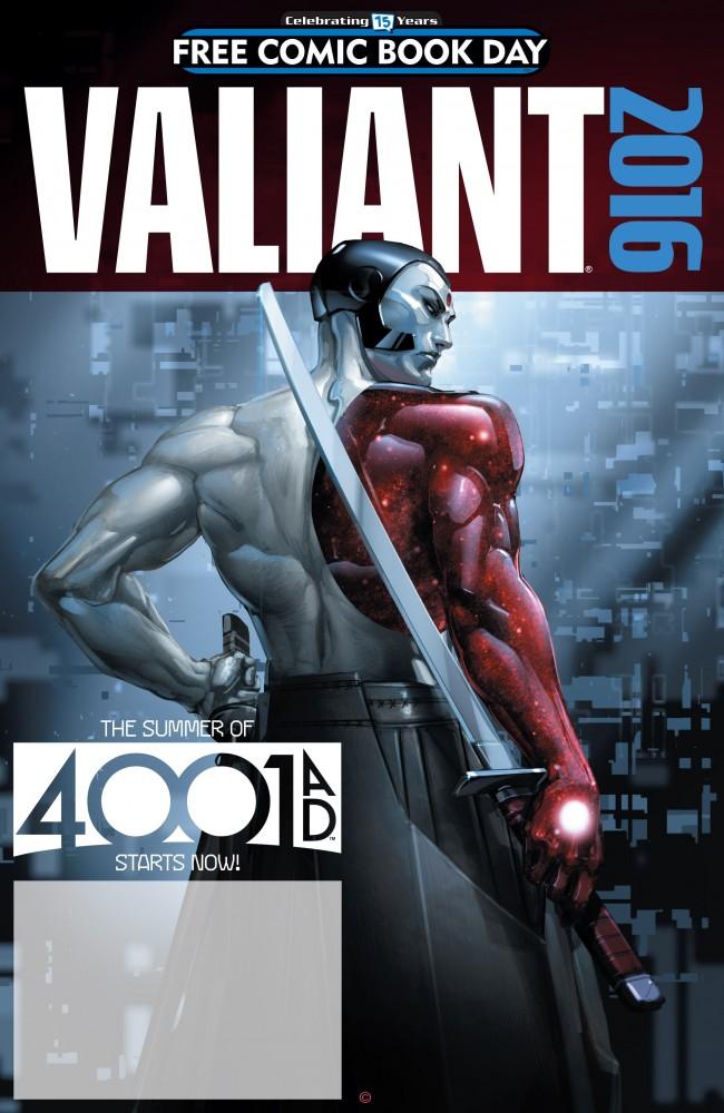 Valiant - 4001 A.D. FCBD Special