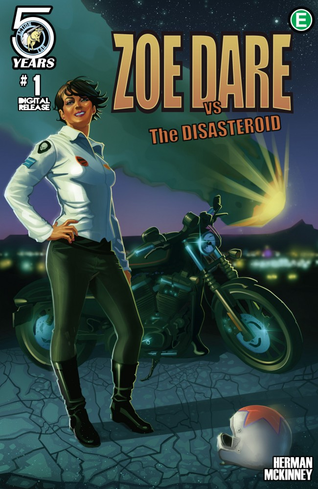 Download Zoe Dare vs The Disasteroid #1
