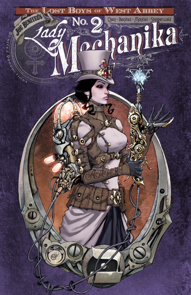Download Lady Mechanika – Lost Boys of West Abbey Vol.1 #2