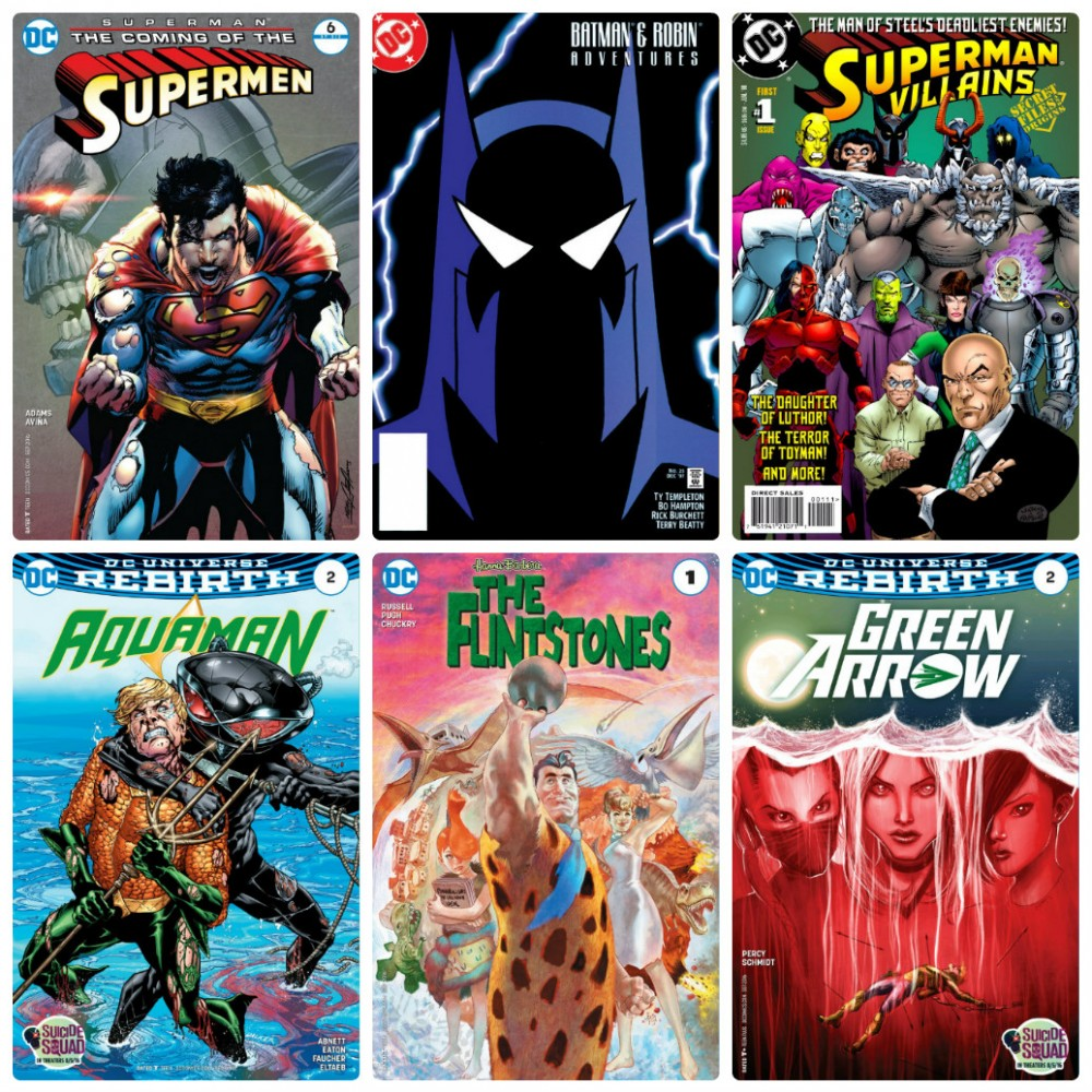 DC week – The New 52 (06.07.2016, week 27)
