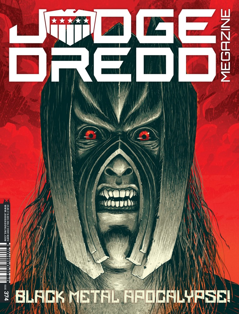 Judge Dredd The Megazine #374