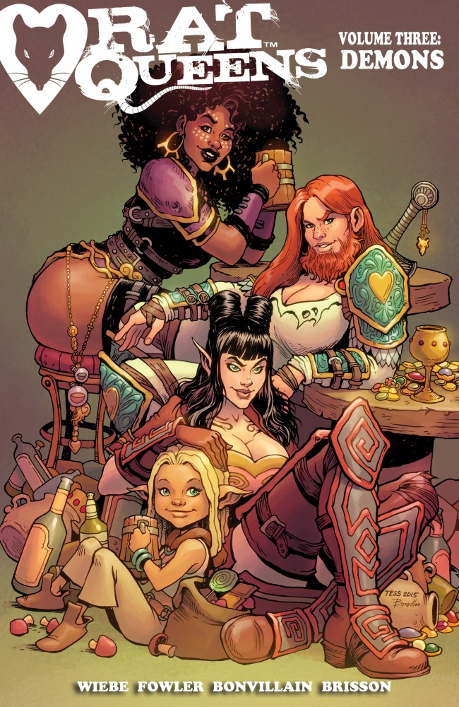 Rat Queens Vol.3 - Demons
