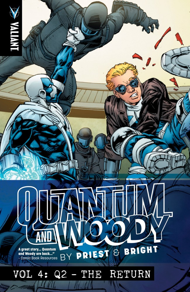 Quantum and Woody by Priest & Bright Vol.4 - Q2 - The Return