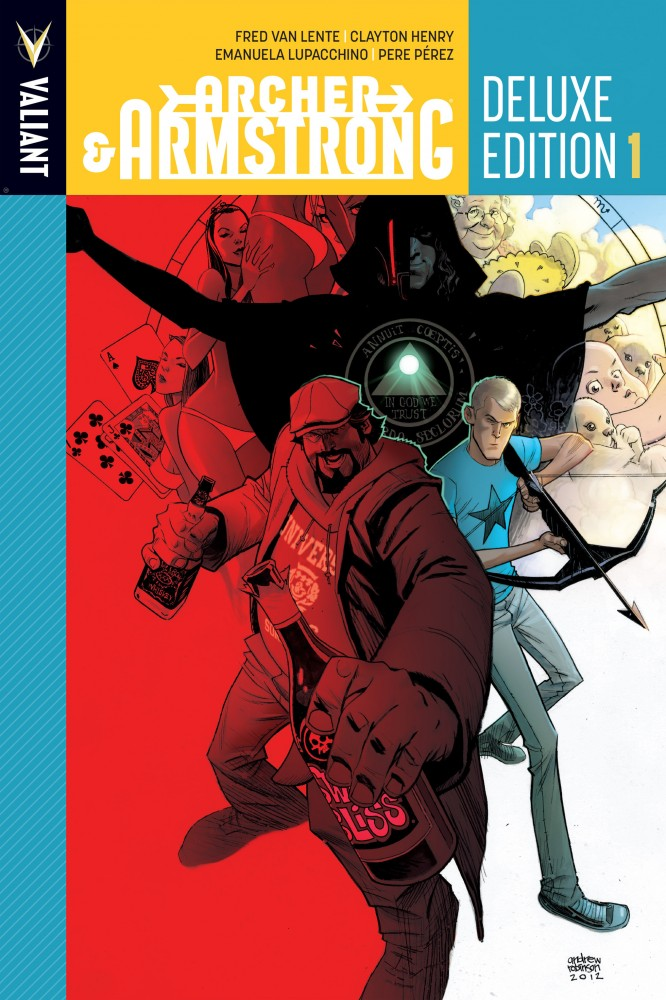 Archer & Armstrong - Deluxe Edition #01