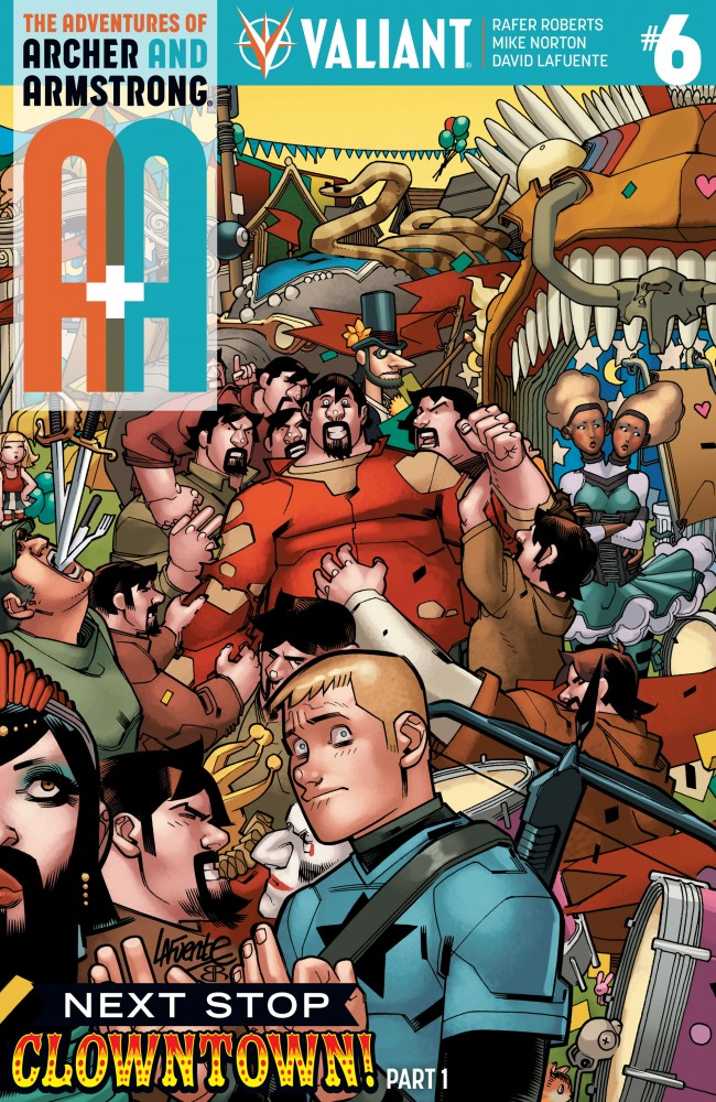 A&A - The Adventures of Archer & Armstrong #6
