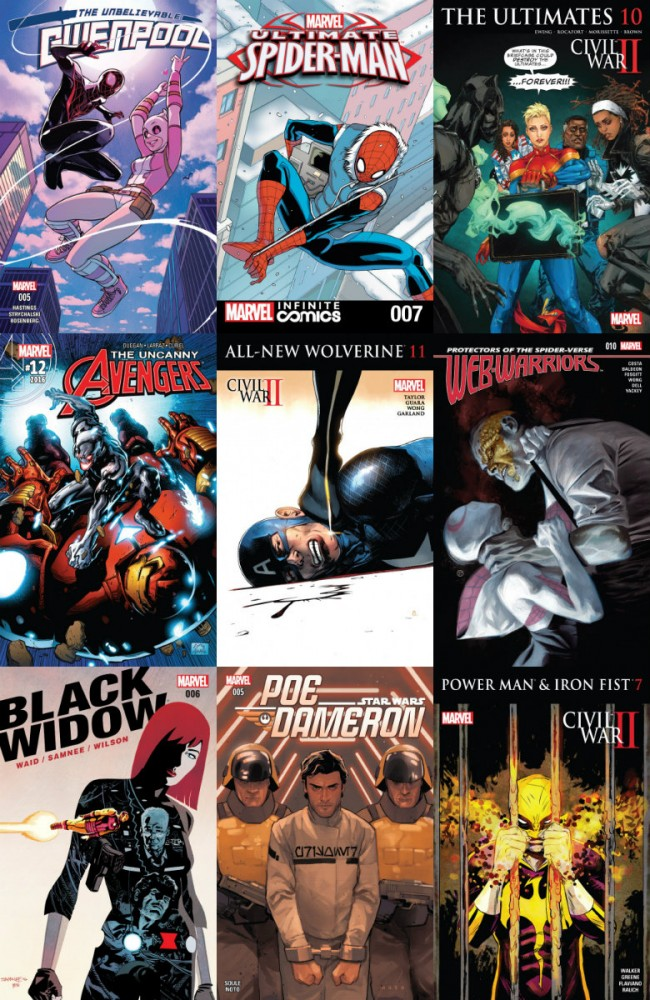 Collection Marvel (17.08.2016, week 33)