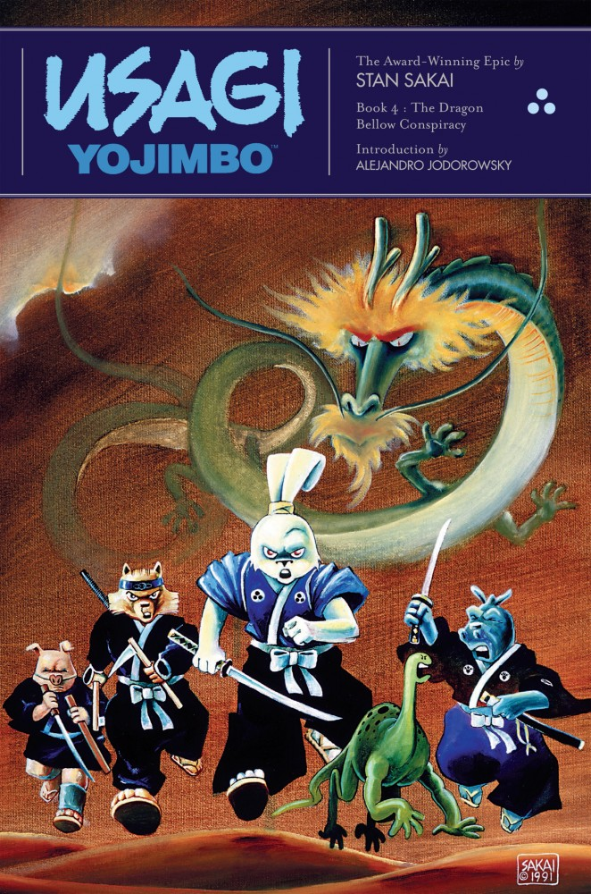 Usagi Yojimbo - Book 4 - The Dragon Bellow Conspiracy