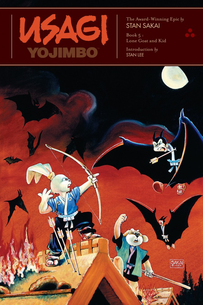 Usagi Yojimbo - Book 5 - Lone Goat and Kid