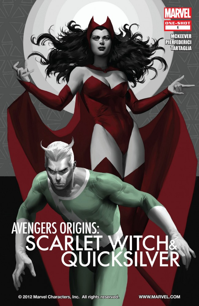 Avengers Origins - Quicksilver and the Scarlet Witch #1