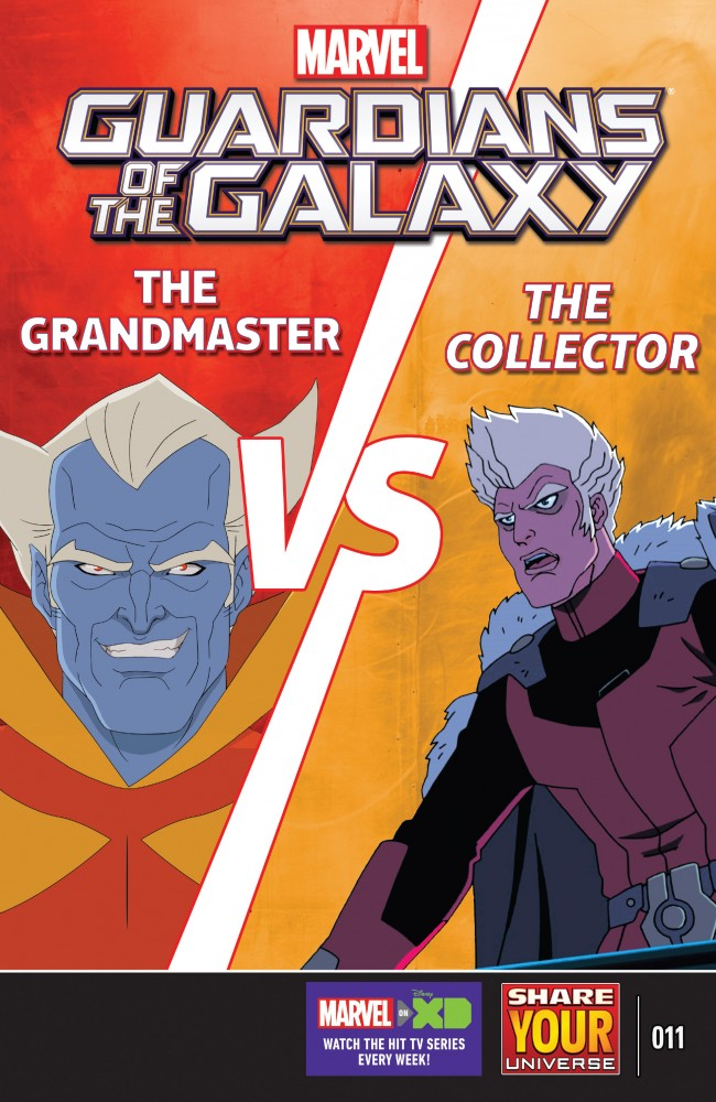 Marvel Universe Guardians of the Galaxy #11