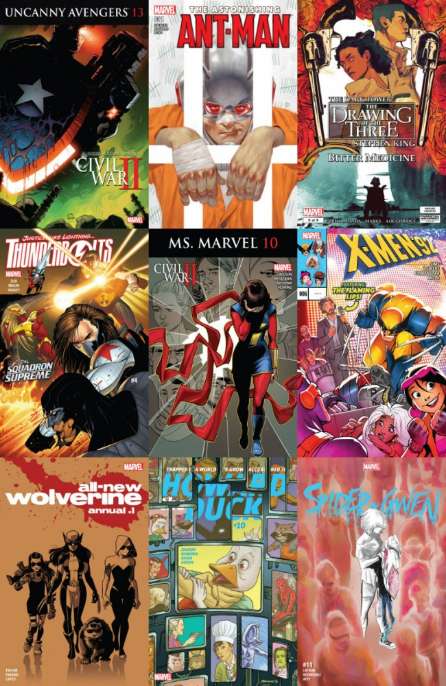 Collection Marvel (31.08.2016, week 35)