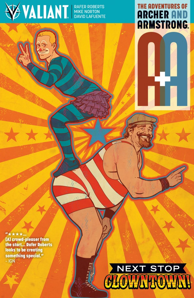 A&A - The Adventures of Archer & Armstrong #7