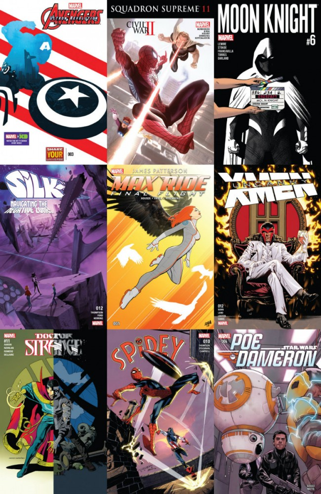 Collection Marvel (07.09.2016, week 36)