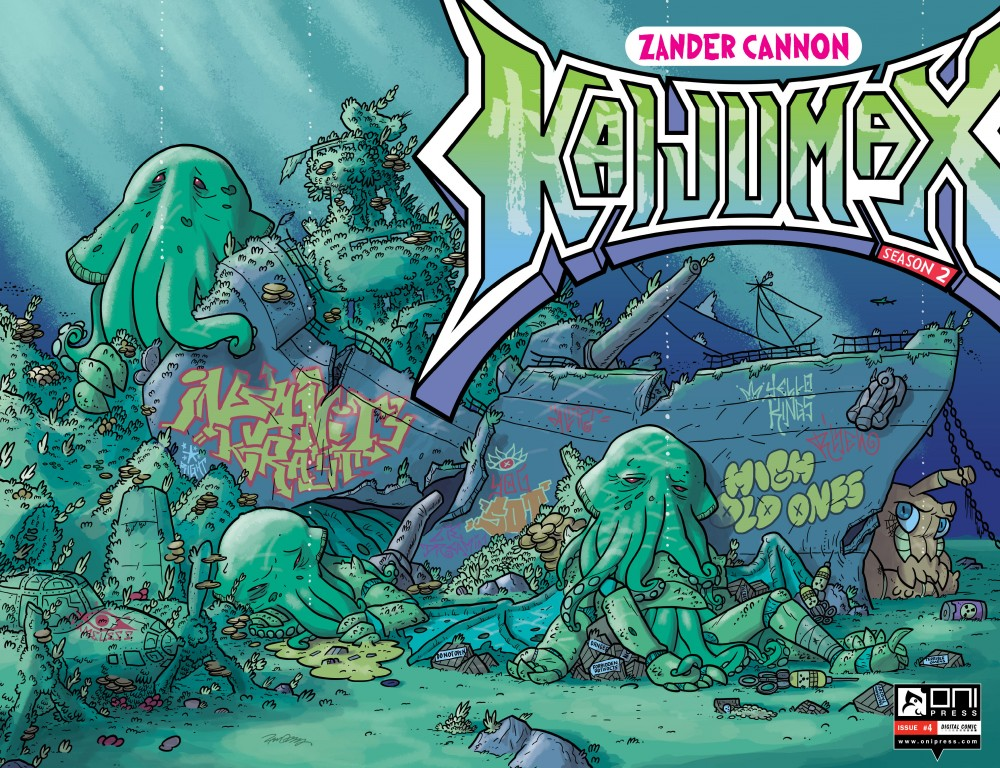 Kaijumax – Season Two #4