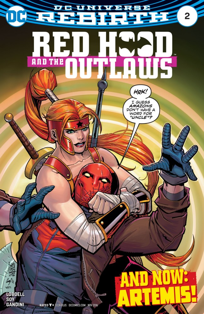 Red Hood & the Outlaws - Rebirth #2