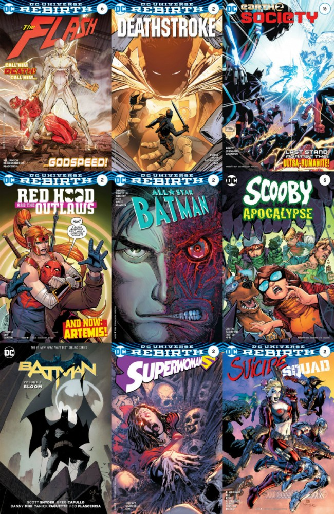 DC week – The New 52 (14.09.2016, week 37)