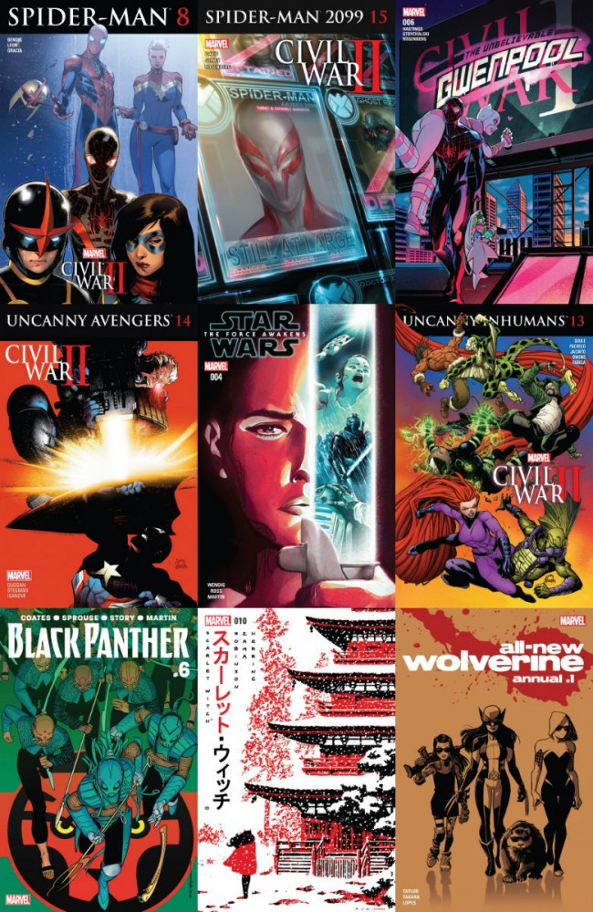 Collection Marvel (14.09.2016, week 37)