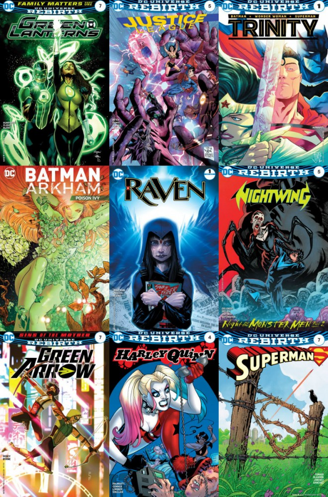 DC week – The New 52 (21.09.2016, week 38)