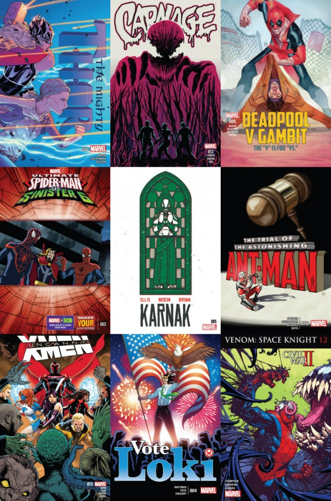 Collection Marvel (21.09.2016, week 38)