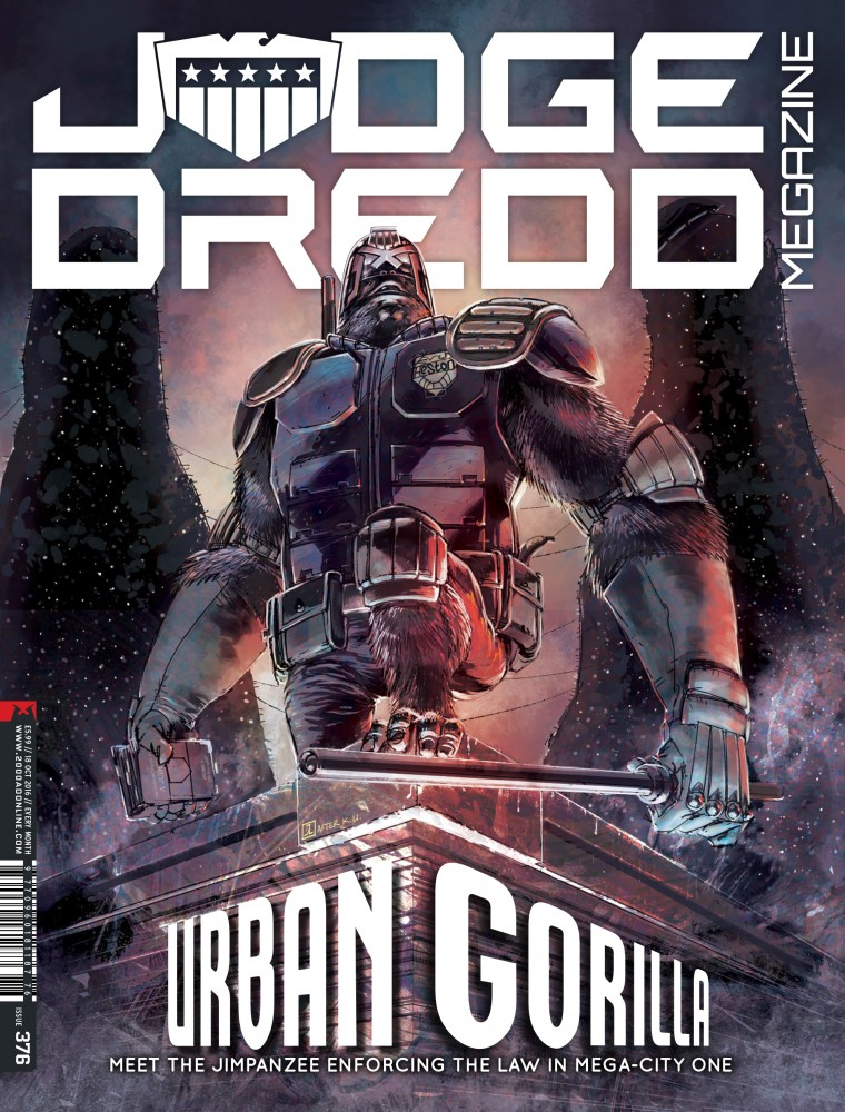 Judge Dredd The Megazine #376