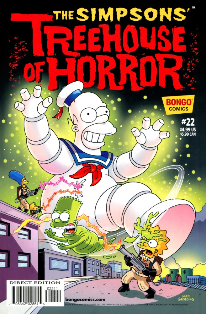 The Simpsons' Treehouse of Horror #22