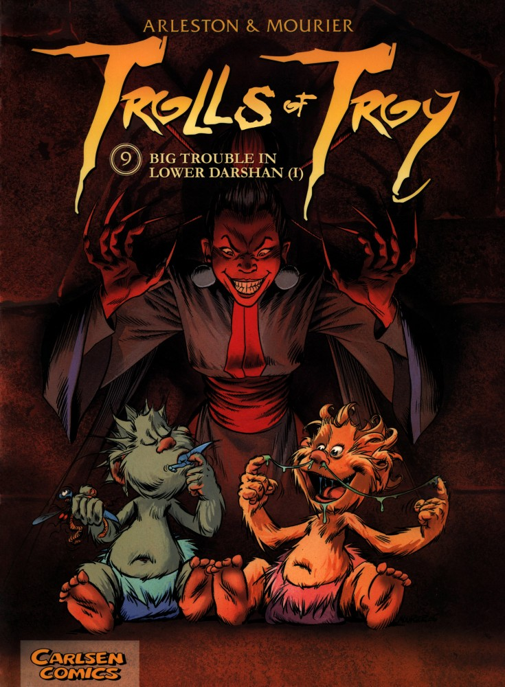Download Trolls of Troy #9 - Big Trouble in Lower Darshan I