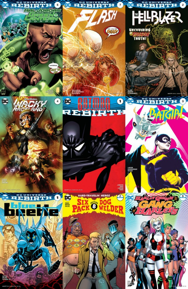 DC week – The New 52 (28.09.2016, week 39)